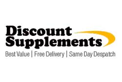 Free delivery with any discount supplements order today!
